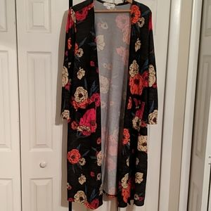 Lularoe Sarah long Open Front Cardigan